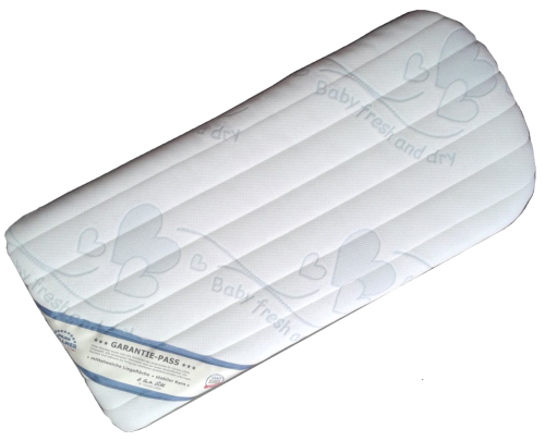 Babymatras ovaal: babymatras 32x70 dr lubbe air plus bugaboo®